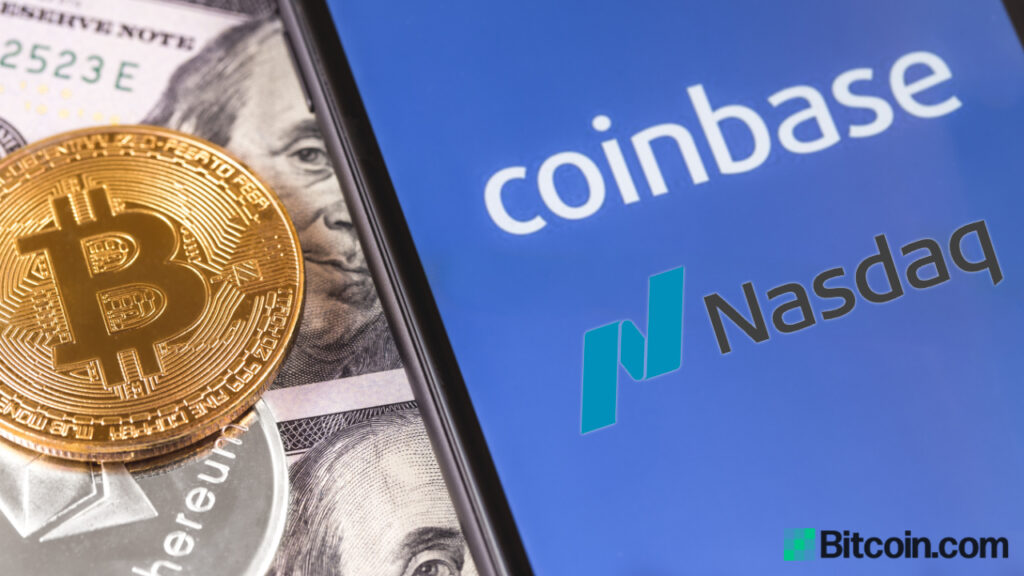 coinbase-ipo-today:-reference-price-set-at-$250,-investors-see-nasdaq-listing-as-'watershed'-for-crypto