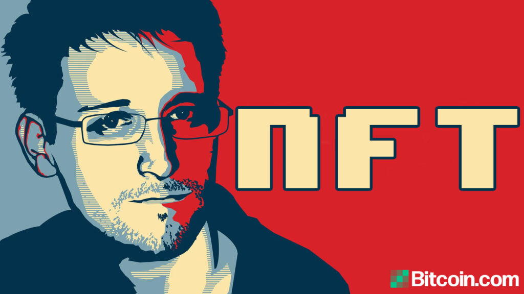 edward-snowden-plans-to-auction-an-nft,-proceeds-will-go-to-freedom-of-the-press-foundation